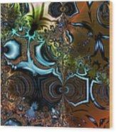Sedimentary Wood Print