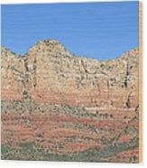Sedona  Arizona  Mountain  Four Wood Print