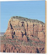 Sedona  Arizona  Mountain  Three Wood Print