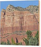 Sedona  Arizona  Mountain  Two Wood Print