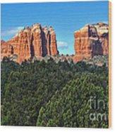 Sedona Arizona Mountains - 04 Wood Print