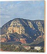 Sedona Arizona Panoramic Wood Print