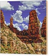 Sedona Arizona Red Rock Secret Mountain Wilderness Wood Print