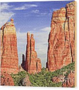 Sedona Red Rock Cathedral Rock State Park Wood Print