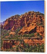 Sedona Rock Formations IIi Wood Print