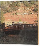 Sedona Steel Bridge Wood Print