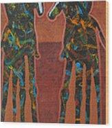 Sedona Sundown Wood Print