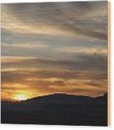 Sedona Sunset May 27 2013 G Wood Print