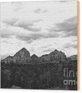 Sedonascape Wood Print