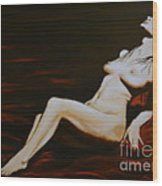 Seduction Wood Print by Elena  Constantinescu