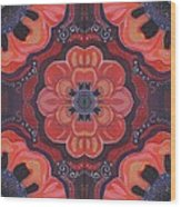 Seduction In Red 1 - The Joy Of Design X X V Arrangement Wood Print