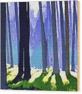 See The Forest For The Trees Wood Print