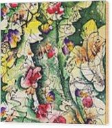 Seeds Of Creation Wood Print