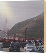 Seeing The Golden Gate Wood Print