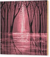 Seeing The Light Wood Print by Ann Marie Bone