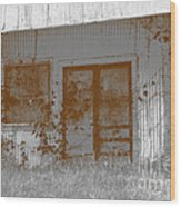 Seen Better Days Wood Print by Connie Fox