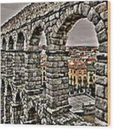 Segovia Aqueduct - Spain Wood Print