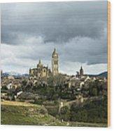 Segovia Surrounded Wood Print