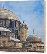 Sehzade Mosque 02 Wood Print