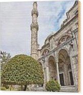 Sehzade Mosque 09 Wood Print