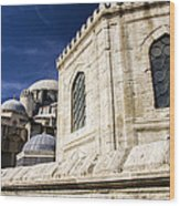 Sehzade Mosque Istanbul Wood Print