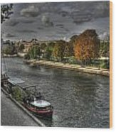 Seine Study Number One Wood Print