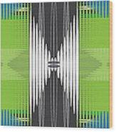 Seismic Rug Wood Print