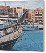 Sekalla Marina Egypt Wood Print