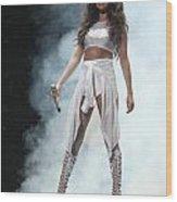 Selena Gomez-8646 Wood Print