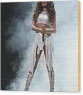 Selena Gomez-8648 Wood Print