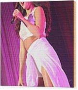 Selena Gomez-8854 Wood Print