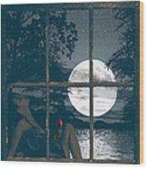 Selene Wood Print