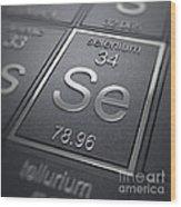 Selenium Chemical Element Wood Print