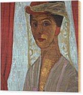 Self Portrait, 1906-7 Wood Print