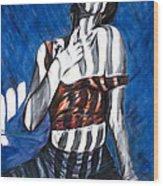 Self Portrait 1991 Wood Print