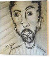 Self-portrait #2 Wood Print