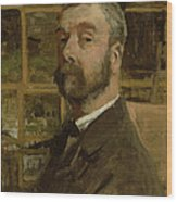 Self Portrait, C.1884 Wood Print