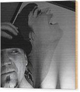 Self Portrait Wood Print by Kip Krause