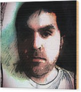Self Portrait Metal Wood Print