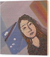 Self-portrait2 Wood Print