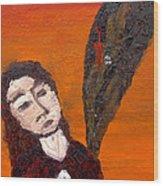 Self-portrait5 Wood Print