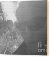 Self Solitude Wood Print