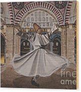 Selimiye Dervish Wood Print