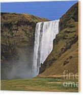 Seljalandsfoss - Iceland Wood Print