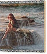 Selkie Girl Wood Print