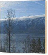 Selkirks In Fall Wood Print