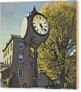 Sellersville Time Wood Print