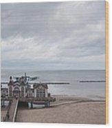 Sellin Pier Wood Print