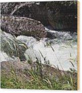 Selway Falls Wood Print