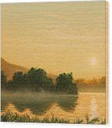 Seminole Sunset Wood Print
